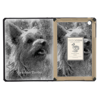 Yorkshire Terrier Pencil Drawing iPad Mini Retina Cover