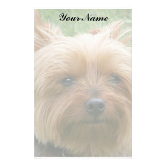 Yorkshire Terrier Personalised Stationery