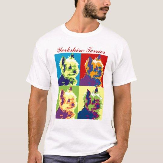 Yorkshire Terrier Pop Art T-Shirt