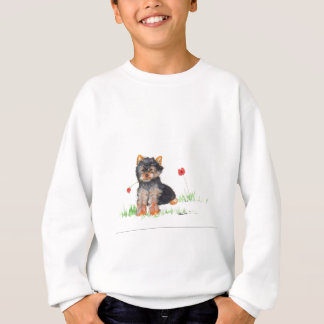 Yorkshire terrier pup sweatshirt