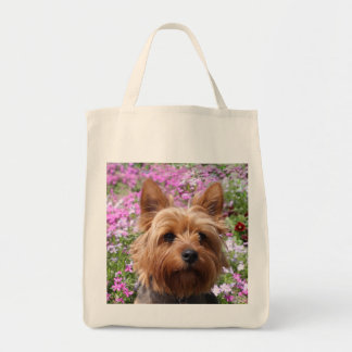 Yorkshire Terrier  Puppy Dog Grocery Totebag Tote Bag