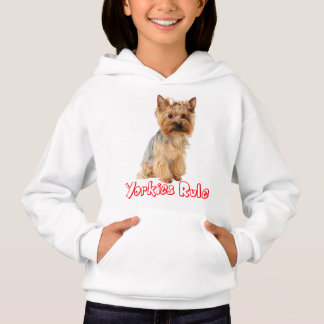 Yorkshire Terrier Puppy Dog Red Yorkies Rule Girls