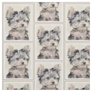 Yorkshire Terrier Puppy Fabric
