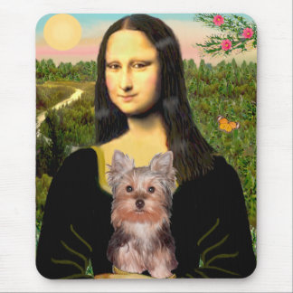 Yorkshire Terrier Puppy - Mona Lisa Mouse Mat
