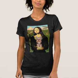 Yorkshire Terrier Puppy - Mona Lisa T-Shirt