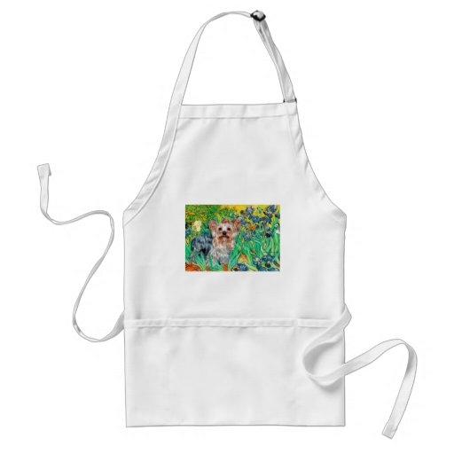 Yorkshire Terrier (T) - Irises Aprons