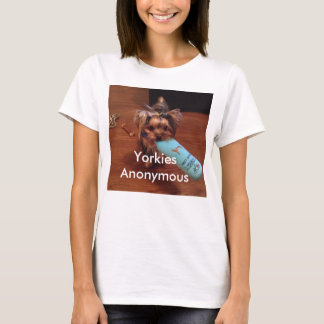 Yorkshire Terrier themed Tee Shirt