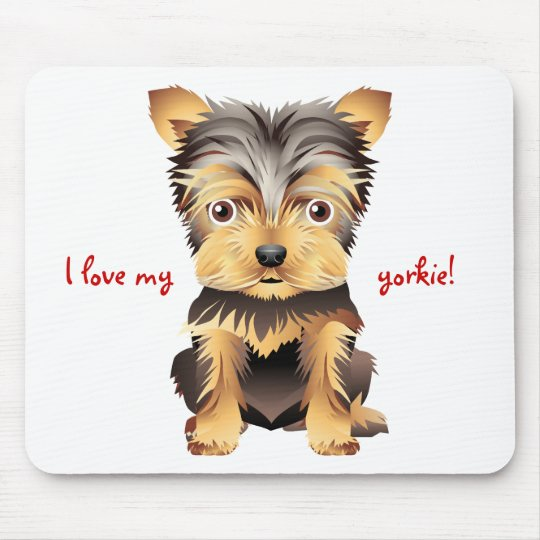 Yorkshire Terrier Toy Dog Gift Mouse Pad