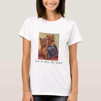 Yorkshire Terrier Vintage Ladies T-Shirt