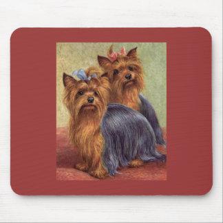 Yorkshire Terrier Vintage Mousepad