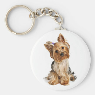 Yorkshire Terrier - Yorkie Puppy Dog Keychain
