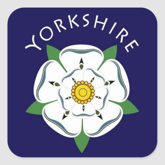 Yorkshire White Rose Stickers