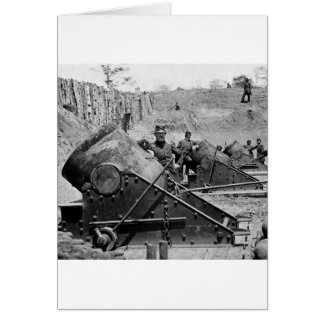 Yorktown Mortar Battery, 1860s Greeting Card