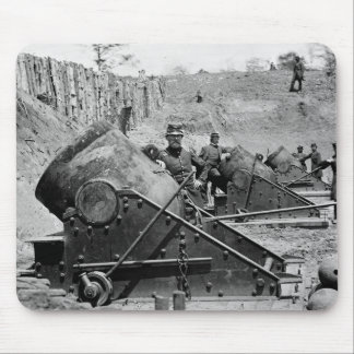 Yorktown Mortar Battery 1860s Mousepads
