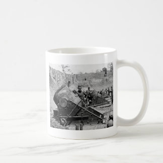 Yorktown Mortar Battery, 1860s Coffee Mugs