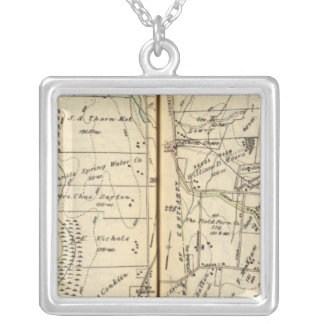 Yorktown, New York 2 Silver Plated Necklace