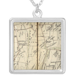 Yorktown, New York 6 Silver Plated Necklace