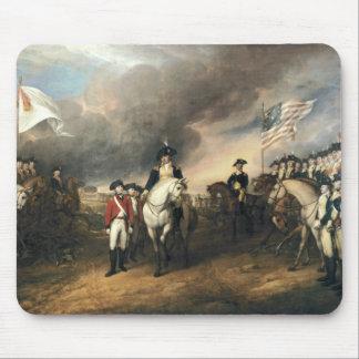 Yorktown Surrender by John Trumbull Mouse Mat