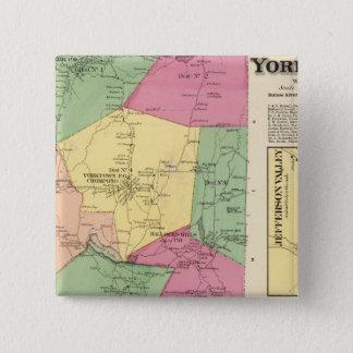 Yorktown, Town 15 Cm Square Badge