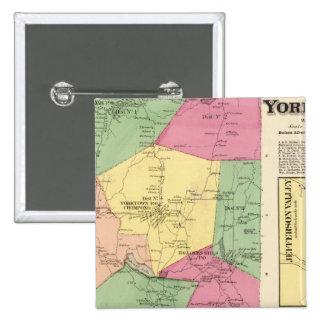 Yorktown, Town 15 Cm Square Badge