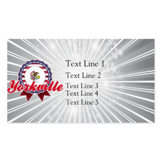 Yorkville, IL Business Card Templates