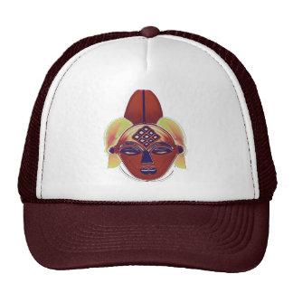 YORUBA MASK TRUCKER HAT