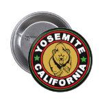 Yosemite Black Circle Pinback Buttons