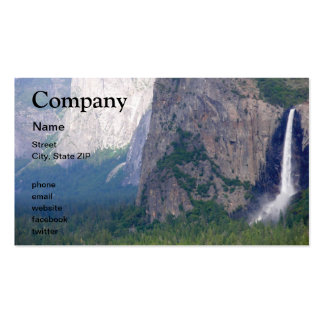 Yosemite Bridal Veil Fall Pack Of Standard Business Cards