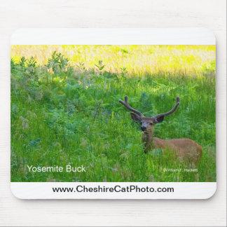 Yosemite Buck California Products Mousepad