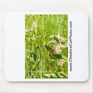 Yosemite Butterfly California Products Mousepads