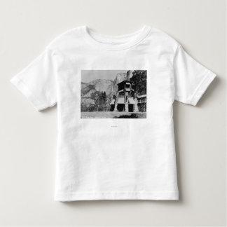 Yosemite, CA - The Ahwahnee Lodge and Valley Toddler T-Shirt