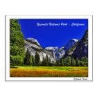Yosemite (California) Postcard