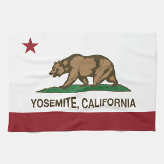 Yosemite California Republic Tea Towel