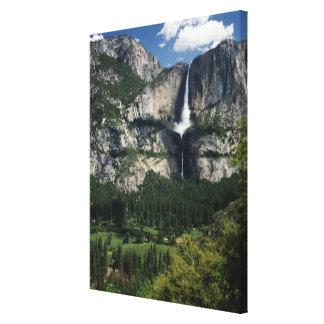 Yosemite Falls and Valley 2 Canvas Print