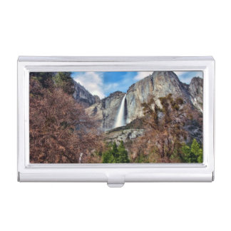Yosemite Falls Business Card Holder