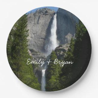Yosemite Falls II from Yosemite National Park Paper Plate