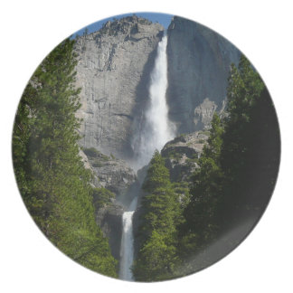 Yosemite Falls II from Yosemite National Park Party Plates