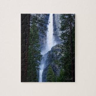 Yosemite Falls Jigsaw Puzzle