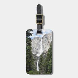 Yosemite Falls Luggage Tag