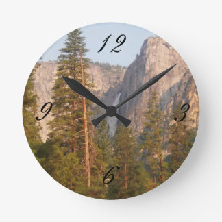 Yosemite Falls Picture Wall Clock