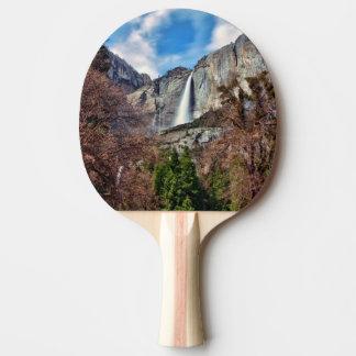 Yosemite Falls Ping Pong Paddle