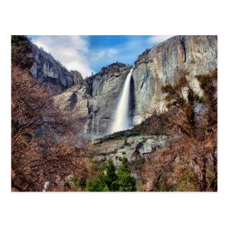 Yosemite Falls Post Card