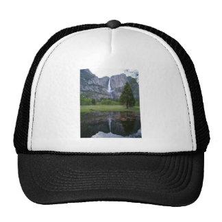 yosemite falls reflection cap