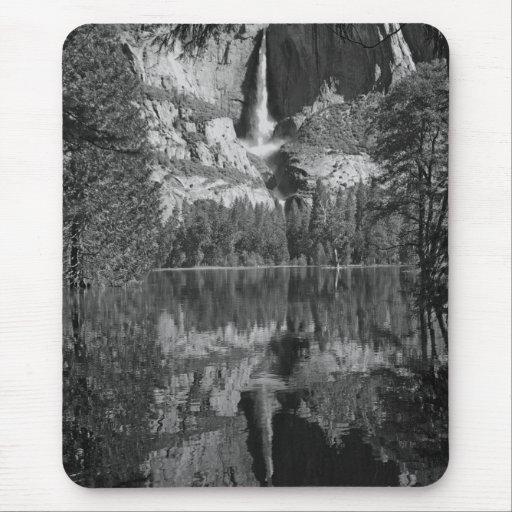 Yosemite Falls Reflection Mousepad