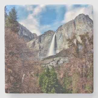 Yosemite Falls Stone Coaster