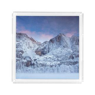 Yosemite Falls Sunrise Acrylic Tray