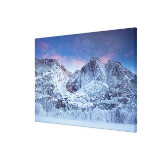 Yosemite Falls Sunrise Canvas Print
