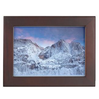 Yosemite Falls Sunrise Keepsake Box