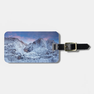 Yosemite Falls Sunrise Luggage Tag