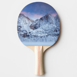 Yosemite Falls Sunrise Ping Pong Paddle